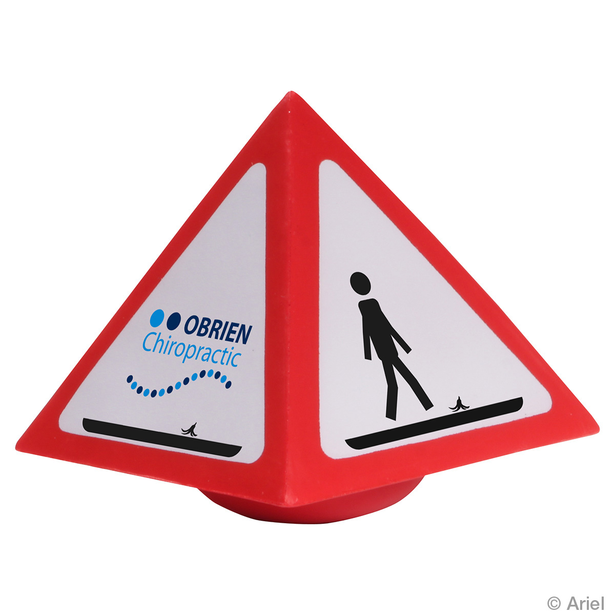 Warning Stress Reliever Wobbler, LWO-WW12, 1 Colour Imprint