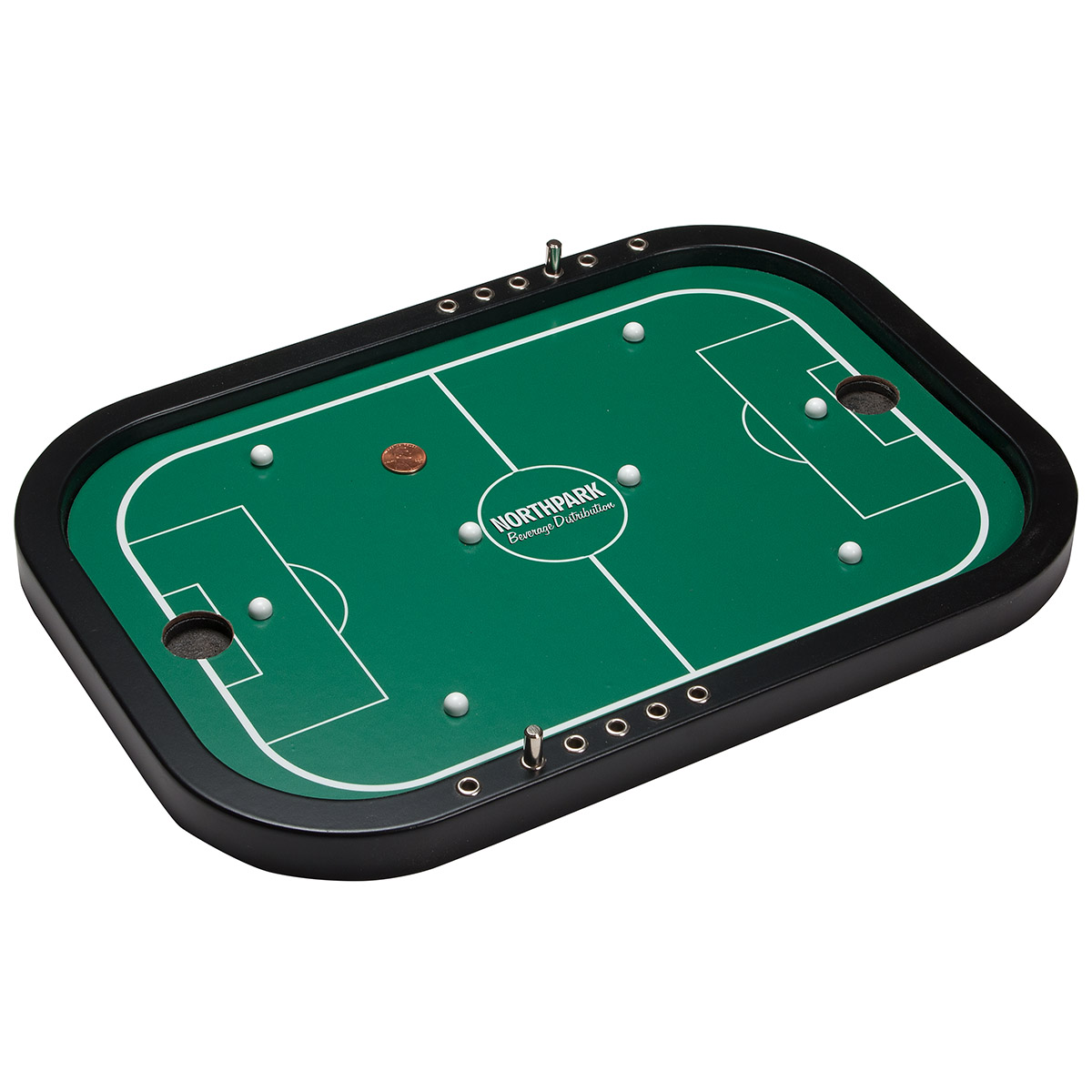 Penny Soccer Executive Wooden Board Game, WAB-PS18, Full Colour Imprint