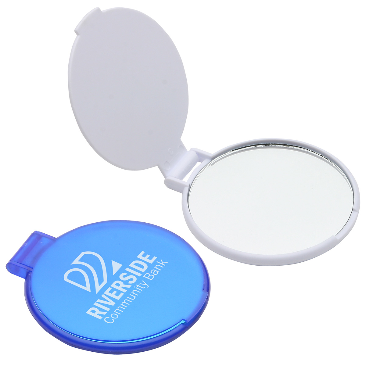 Ultra Thin Pocket Mirror, WPC-PM10 - 1 Colour Imprint