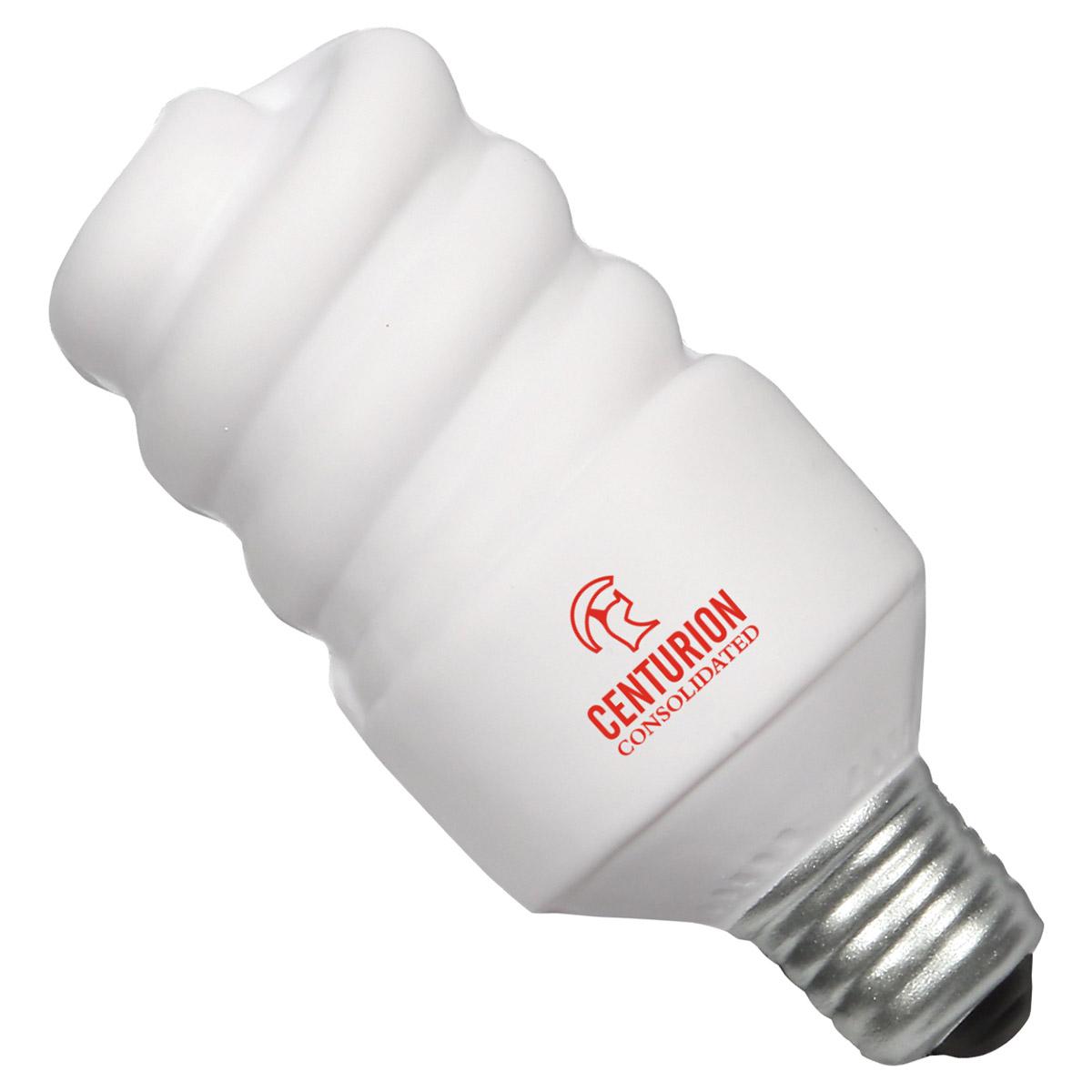 Mini Energy Saving Lightbulb Stress Reliever, LEL-ML10, 1 Colour Imprint