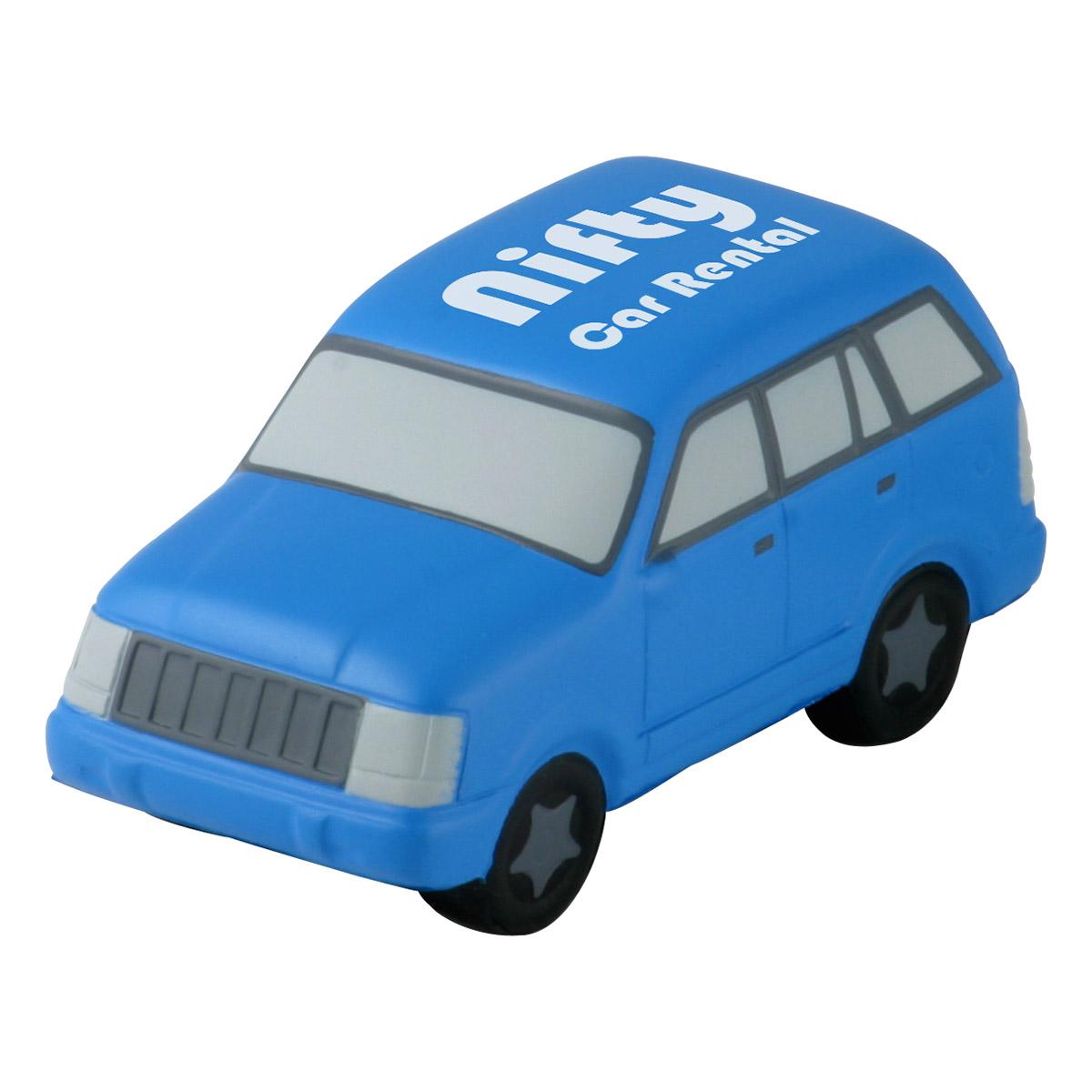 SUV Stress Reliever, LTR-SU06 - 1 Colour Imprint