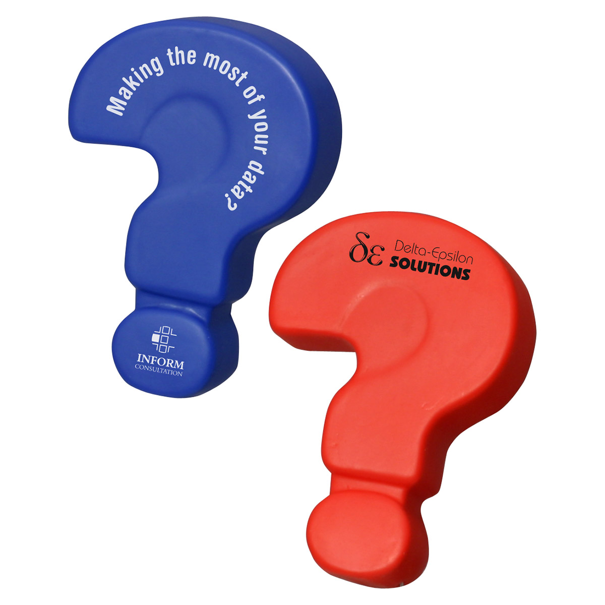 Question Mark Stress Reliever, LGS-QU09 - 1 Colour Imprint