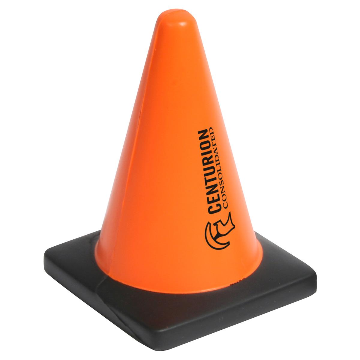 Construction Cone Stress Reliever, LCN-CC04, 1 Colour Imprint