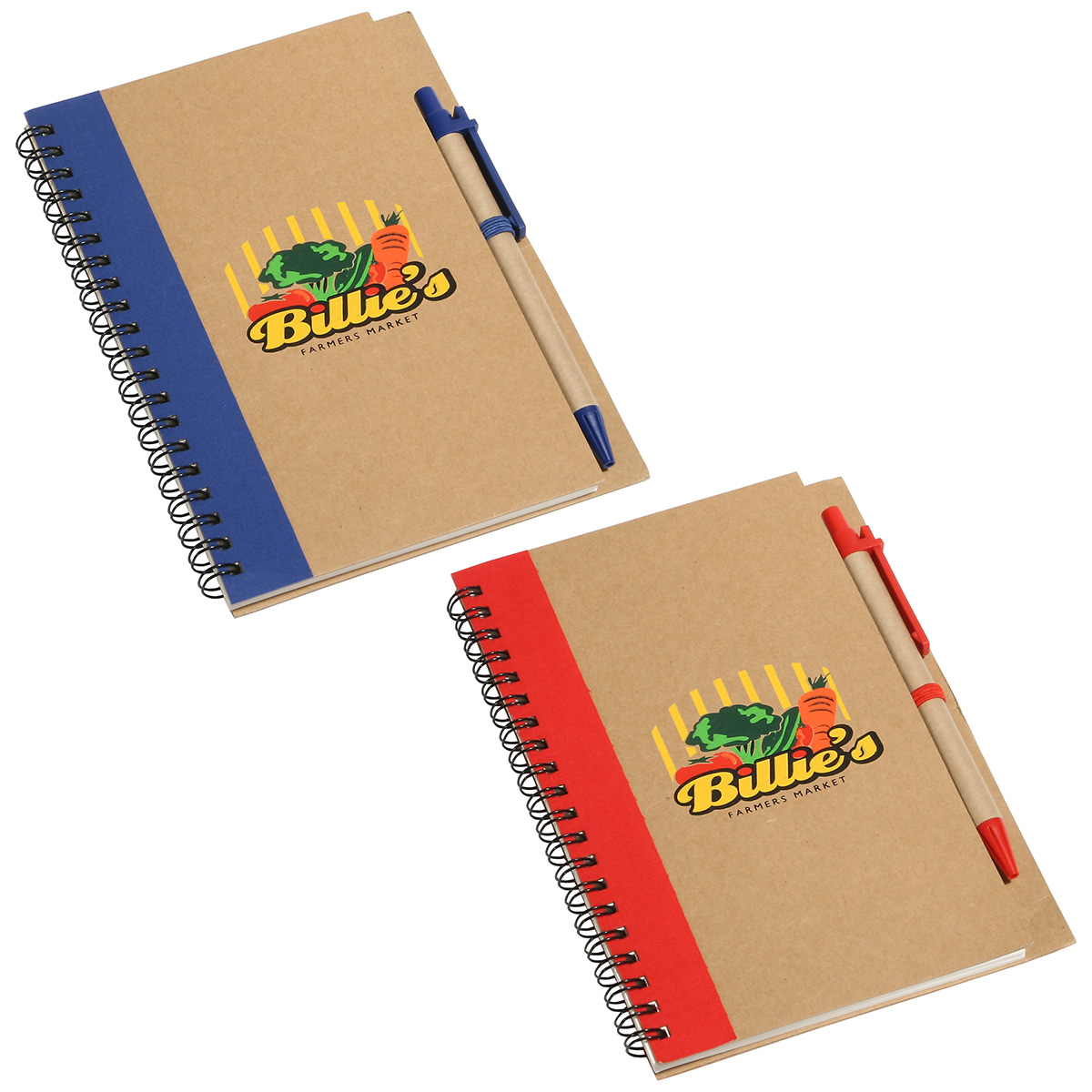 Promo Write Recycled Notebook, WOF-RN10 - 1 Colour Imprint