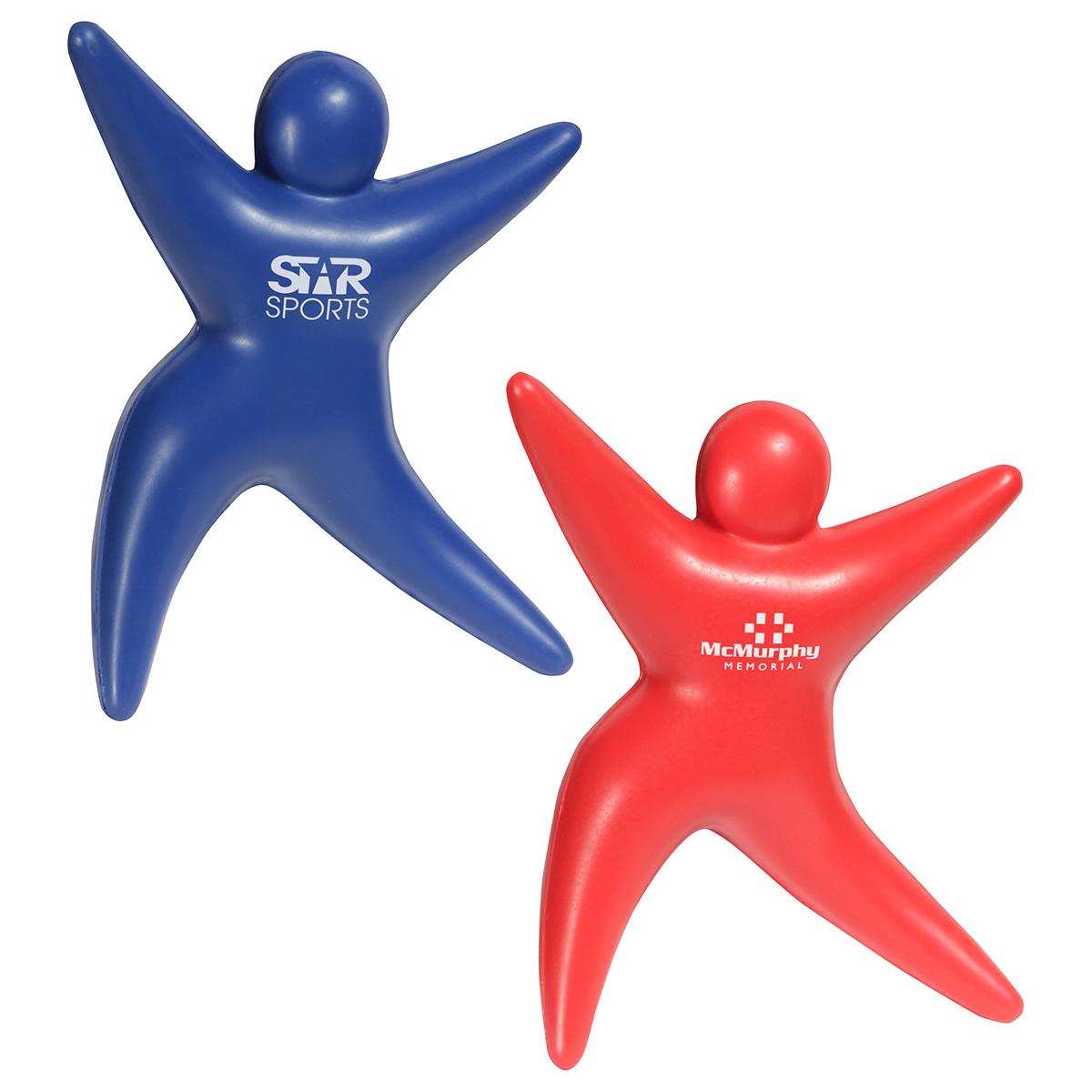Starman Stress Reliever, LGS-SM17, 1 Colour Imprint