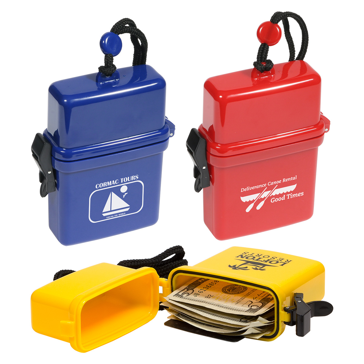 Waterproof Storage Case, WOR-WP12, 1 Colour Imprint