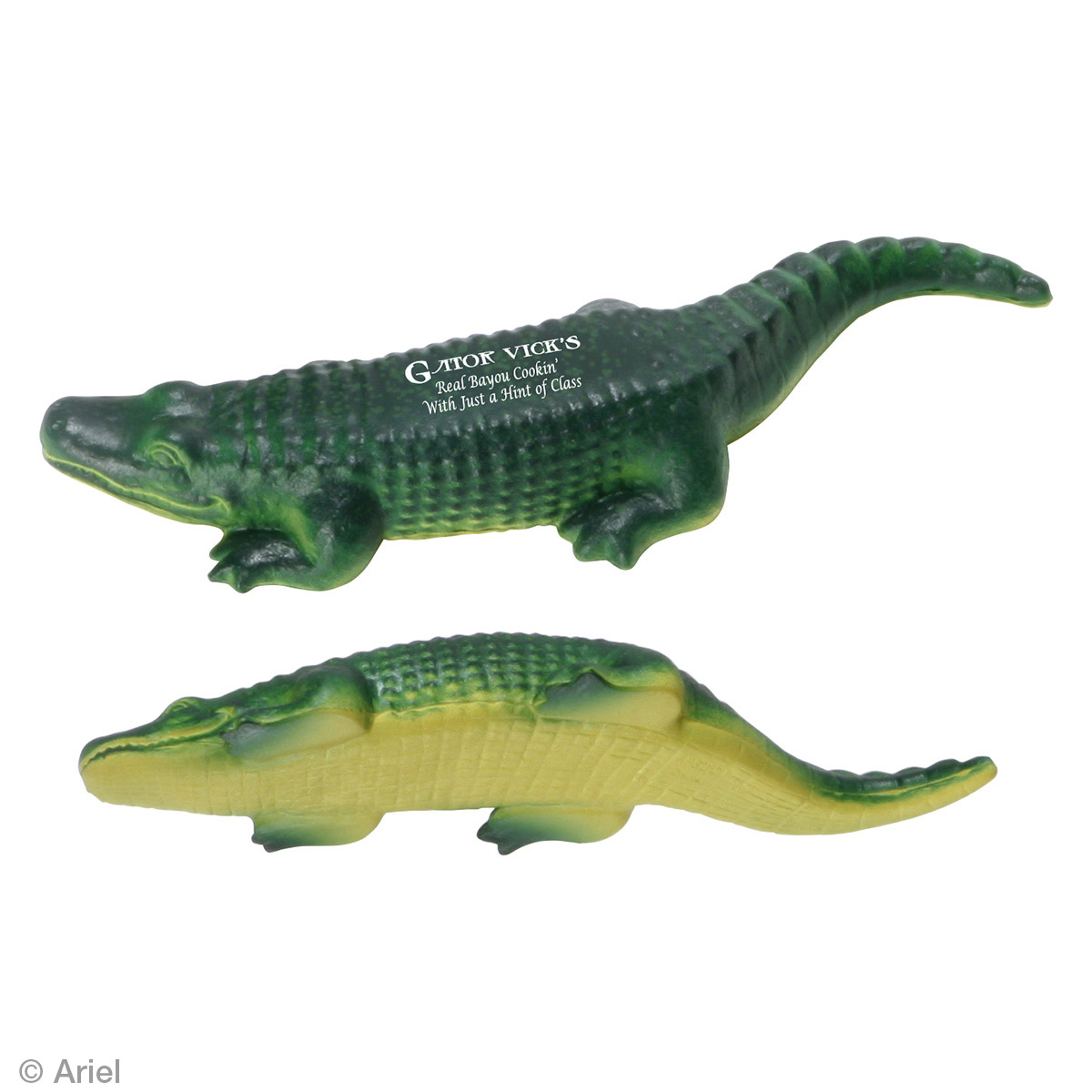 American Alligator Stress Reliever, LAA-AA07, 1 Colour Imprint