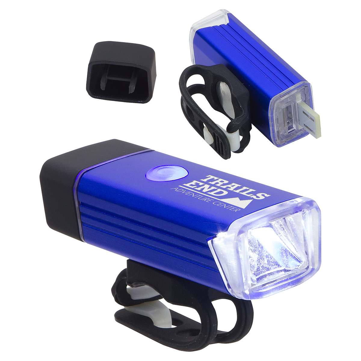 Radiant Rechargeable Bike Light, WLT-RR18, 1 Colour Imprint
