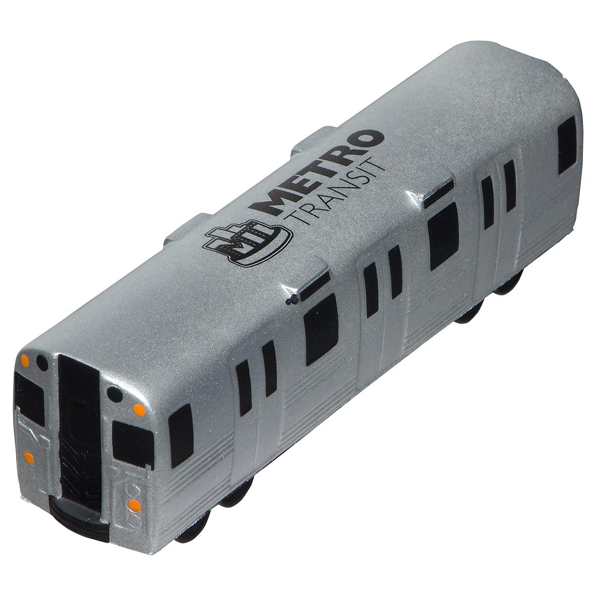 Metro Train Stress Reliever, LTR-MT34, 1 Colour Imprint