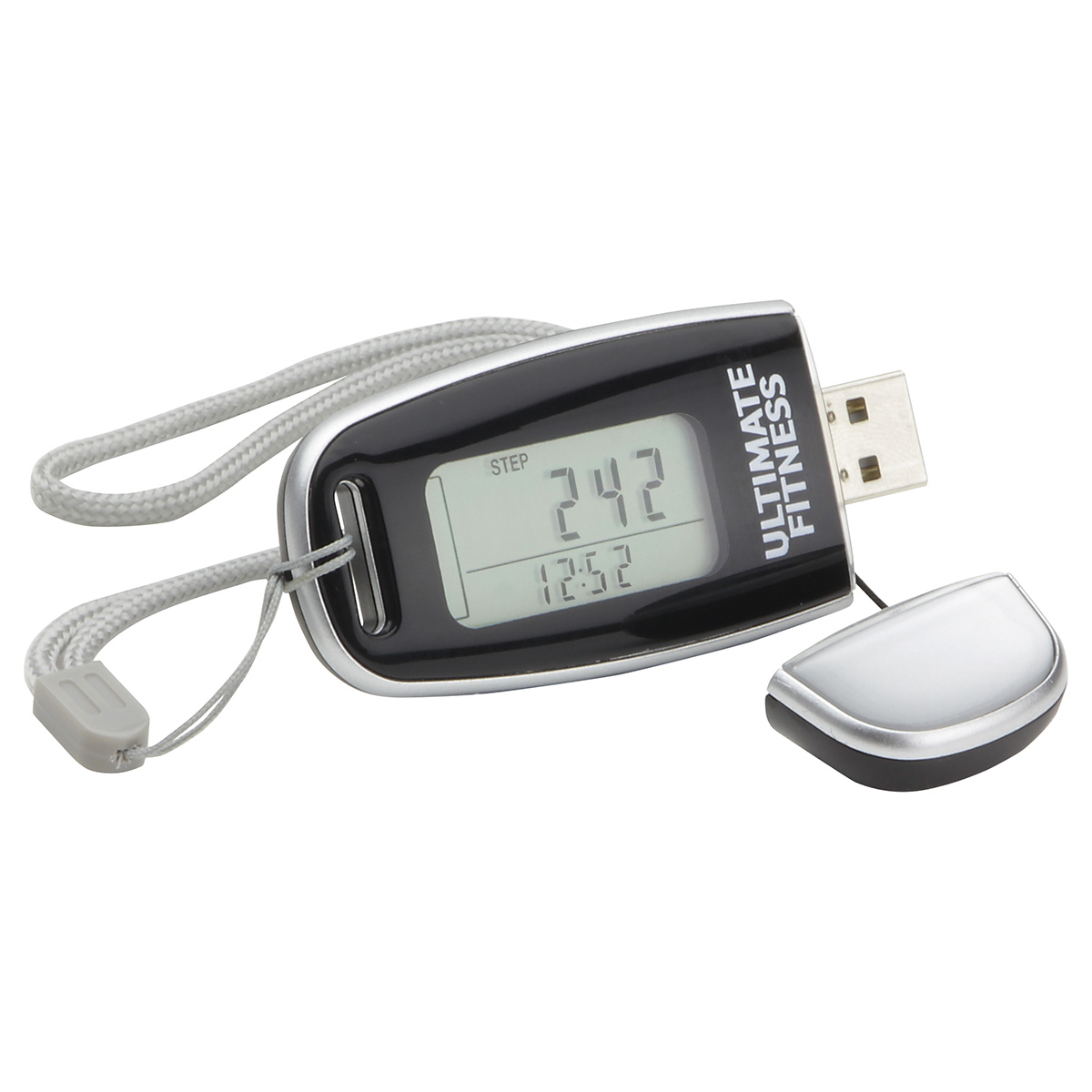 Data Tracker USB Pedometer, WHF-US10 - 1 Colour Imprint