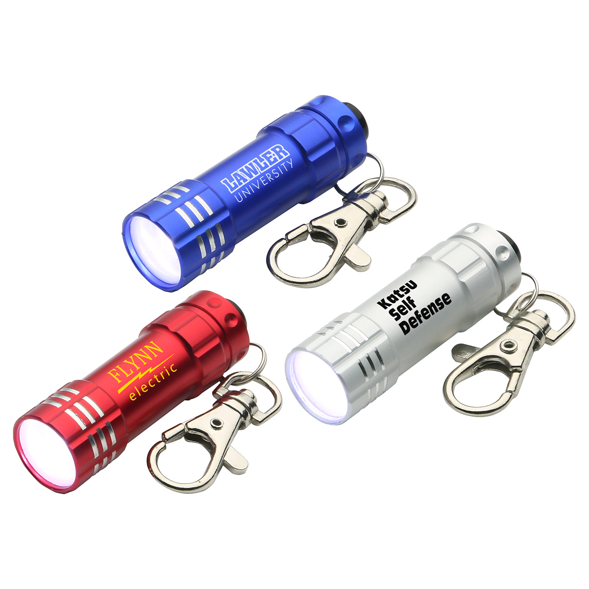 Bright Shine LED Keychain, WLT-BS11 - 1 Colour Imprint