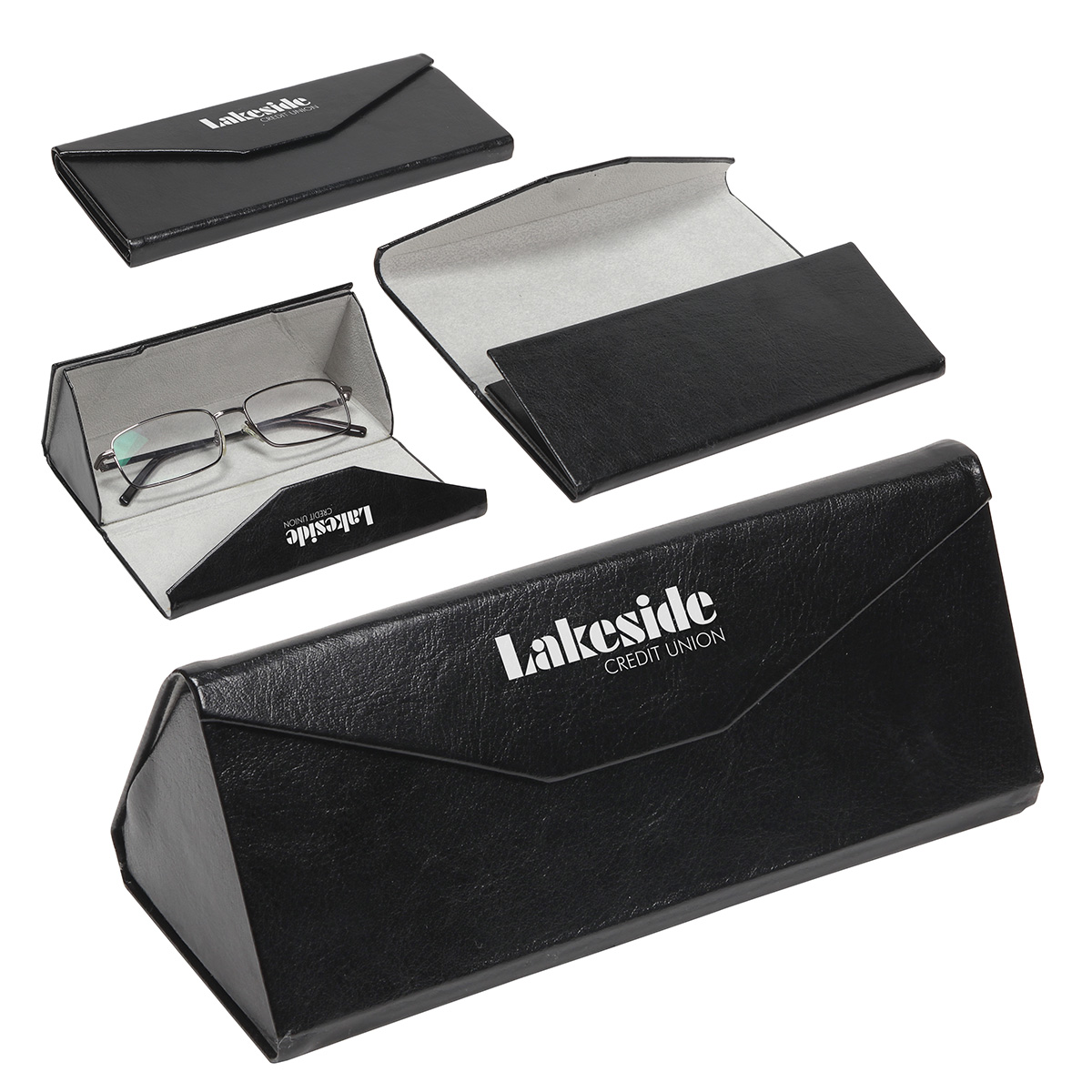Eyeglasses & More Quick-Collapse Case, WHF-QC18, 1 Colour Imprint
