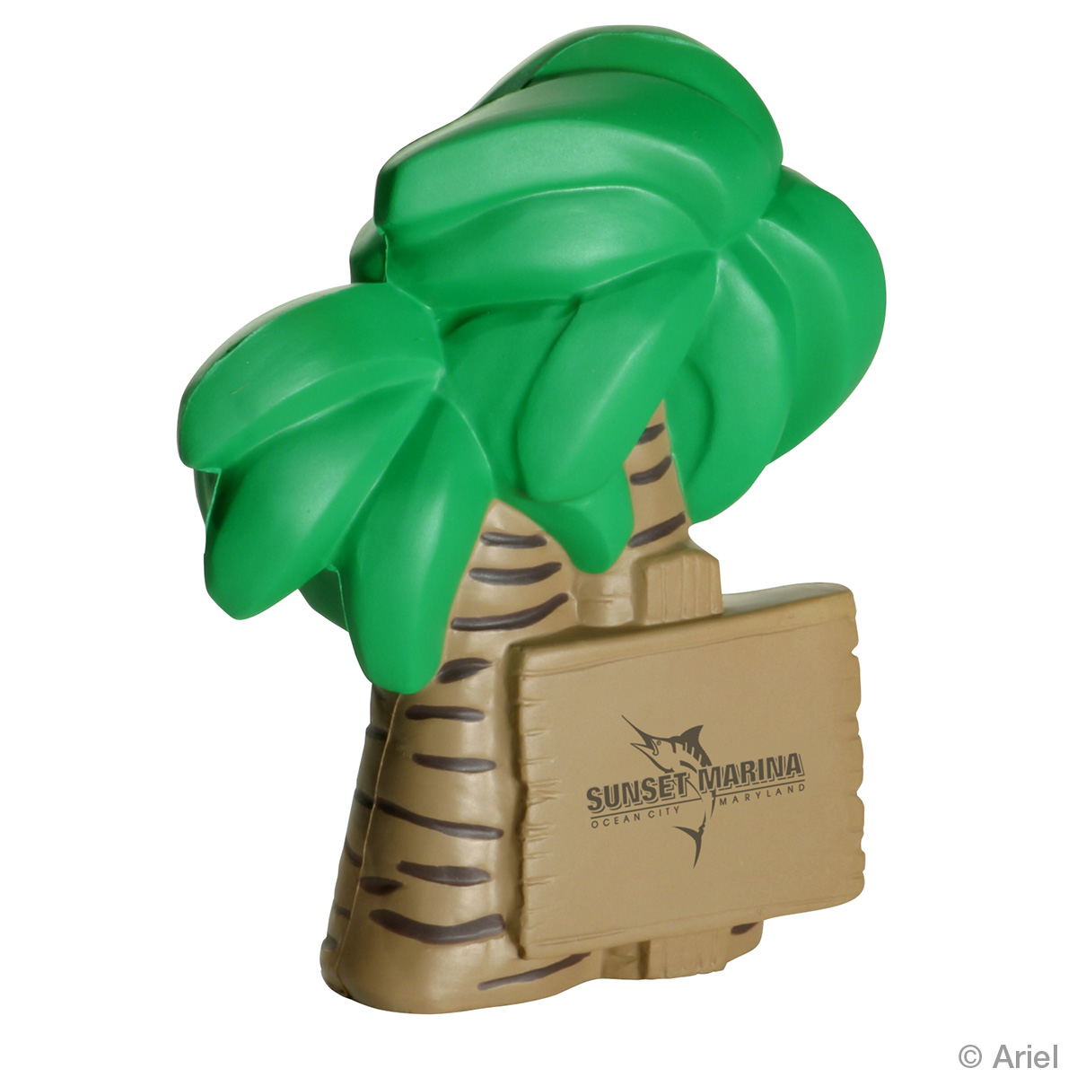 Palm Tree Stress Reliever, LTV-PT06, 1 Colour Imprint