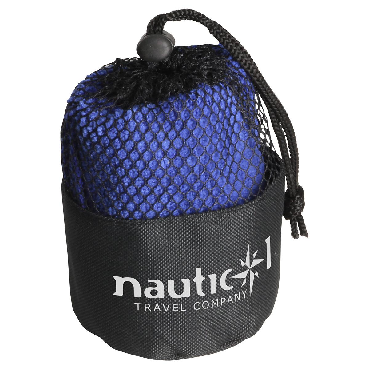 Quick Dry Towel & Pouch, WPC-TP12 - 1 Colour Imprint