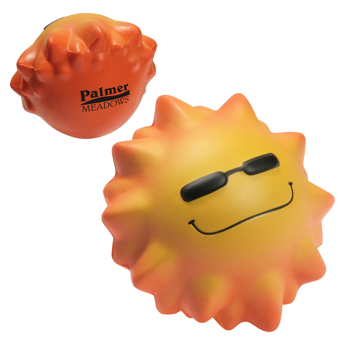 Cool Sun Stress Reliever Wobbler, LWO-CS12, 1 Colour Imprint