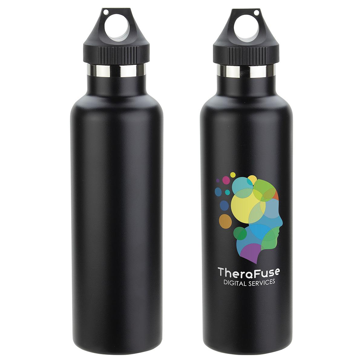 Peak 25oz Vacuum Insulated Stainless Steel Bottle, DBT-PK17 - 1 Colour Imprint