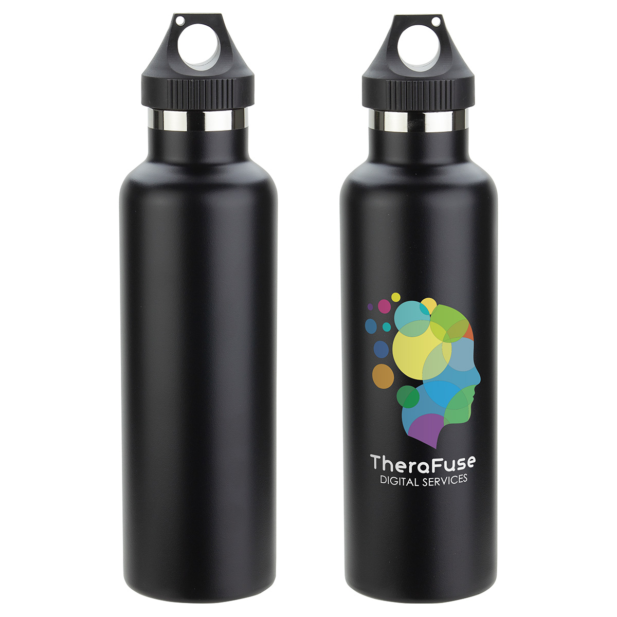 Peak 25 oz Vacuum Insulated Stainless Steel Bottle, DBT-PK17, 1 Colour Imprint