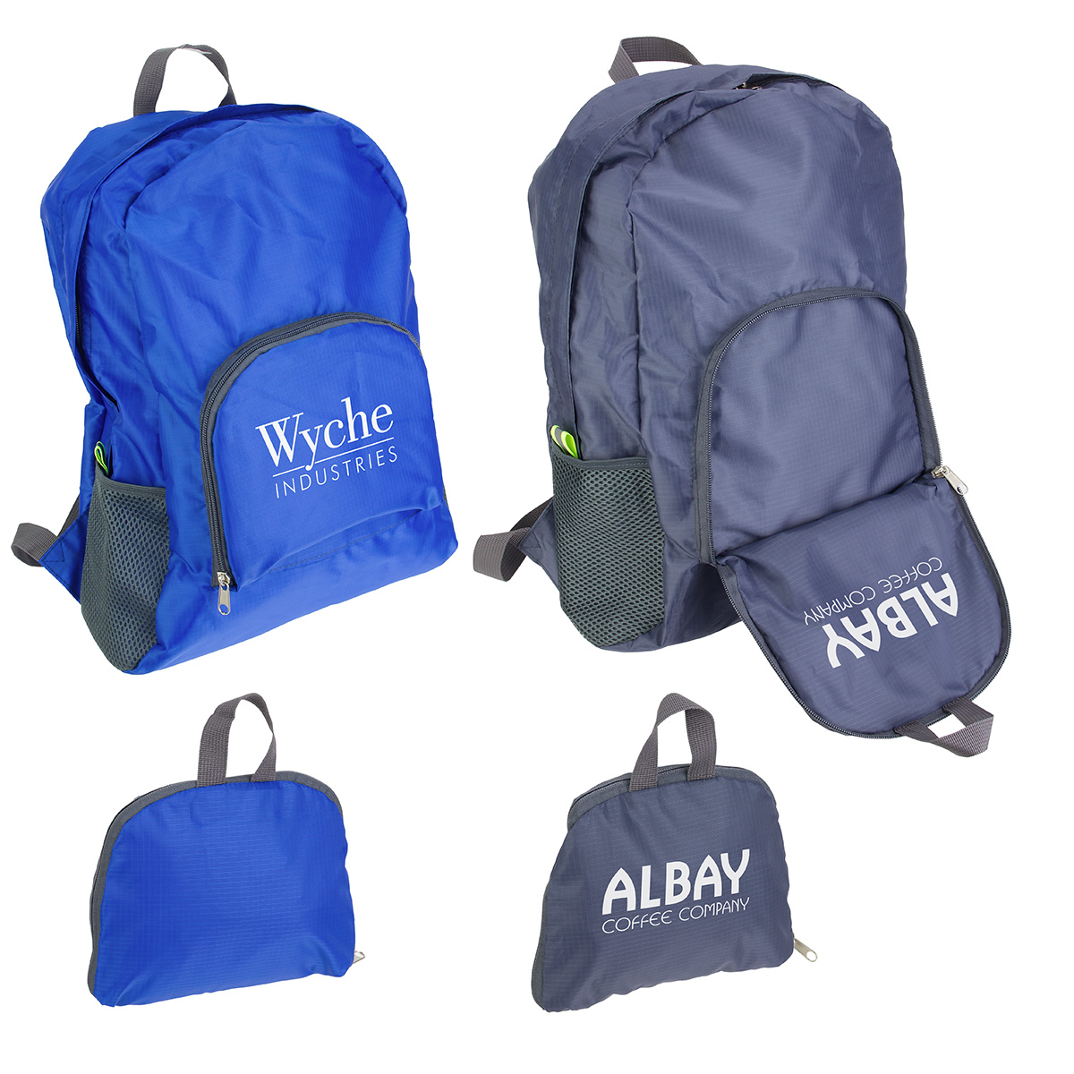 Trailblazer Collapsible Backpack, WBA-TB18, 1 Colour Imprint