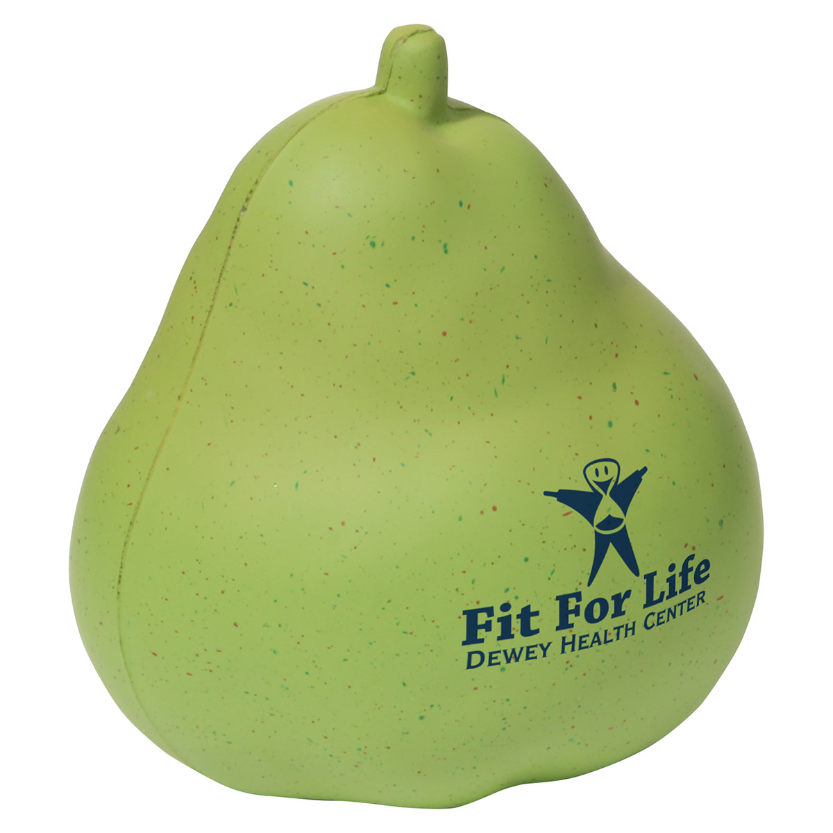 Pear Stress Reliever, LFR-PR11, 1 Colour Imprint