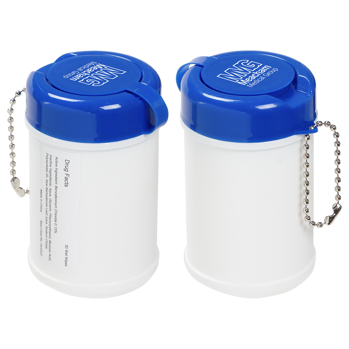 Travel Well Sanitizer Wipes, WSA-TW11 - 1 Colour Imprint
