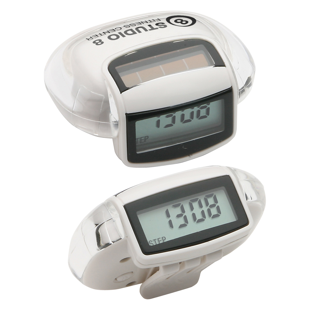 Sun Step Solar Pedometer, WHF-SS11 - 1 Colour Imprint