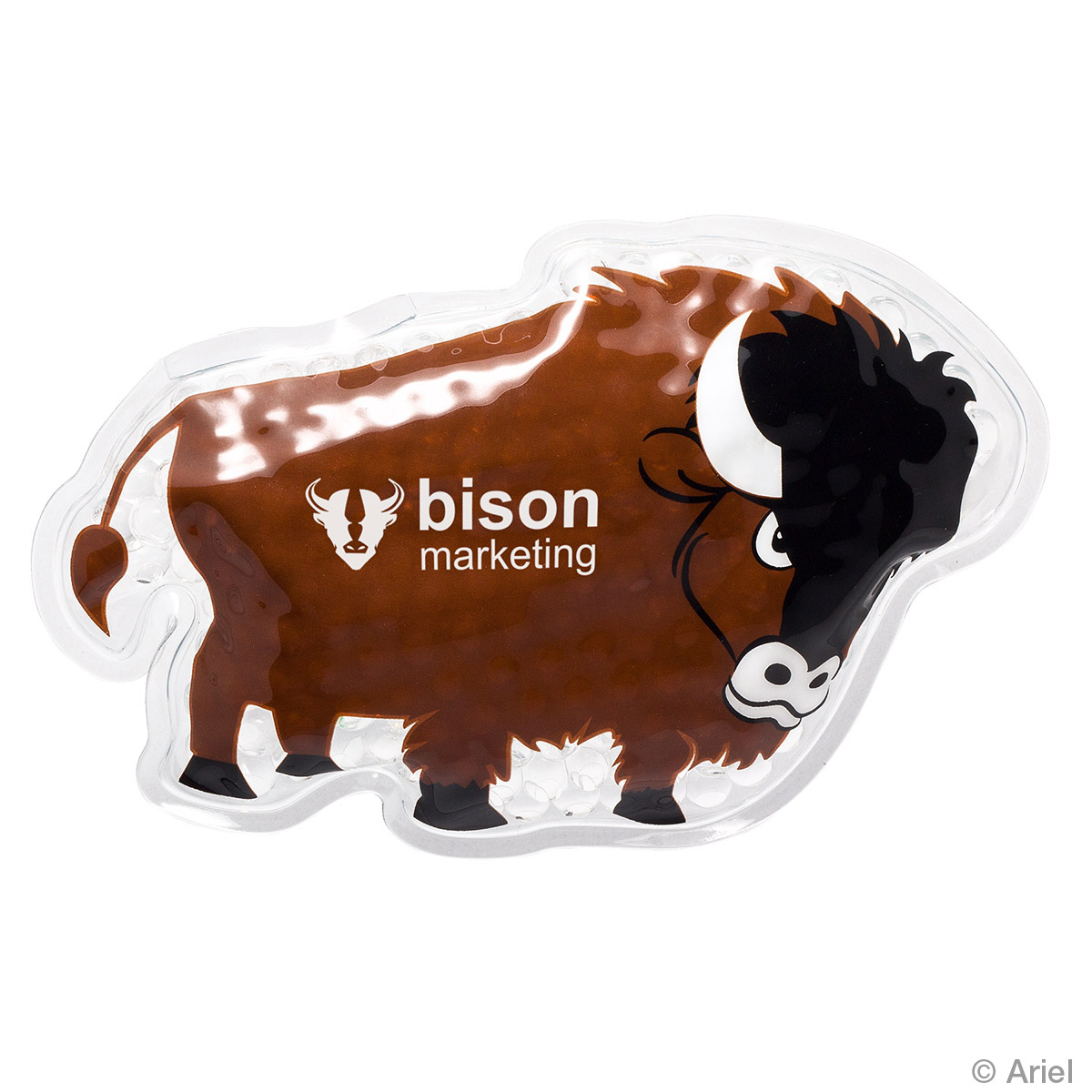Buffalo Hot/Cold Pack, WHF-BF17 - 1 Colour Imprint