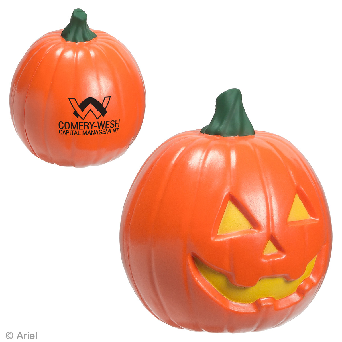 Jack O Lantern Stress Reliever, LGS-JO18, 1 Colour Imprint