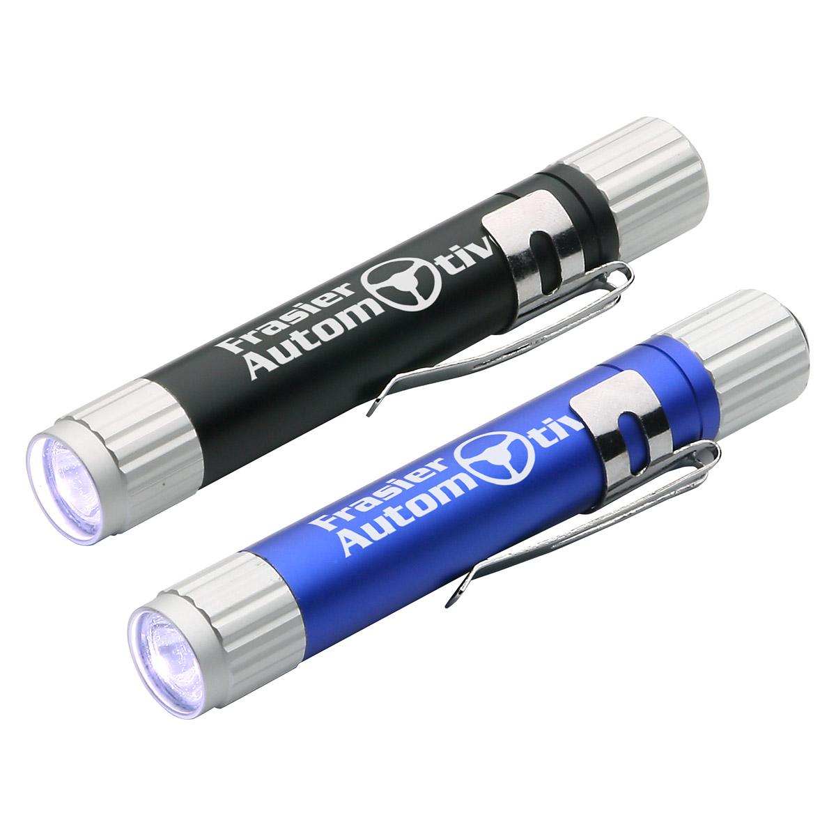 Aluminum LED Pen Light, WLT-AL11 - 1 Colour Imprint