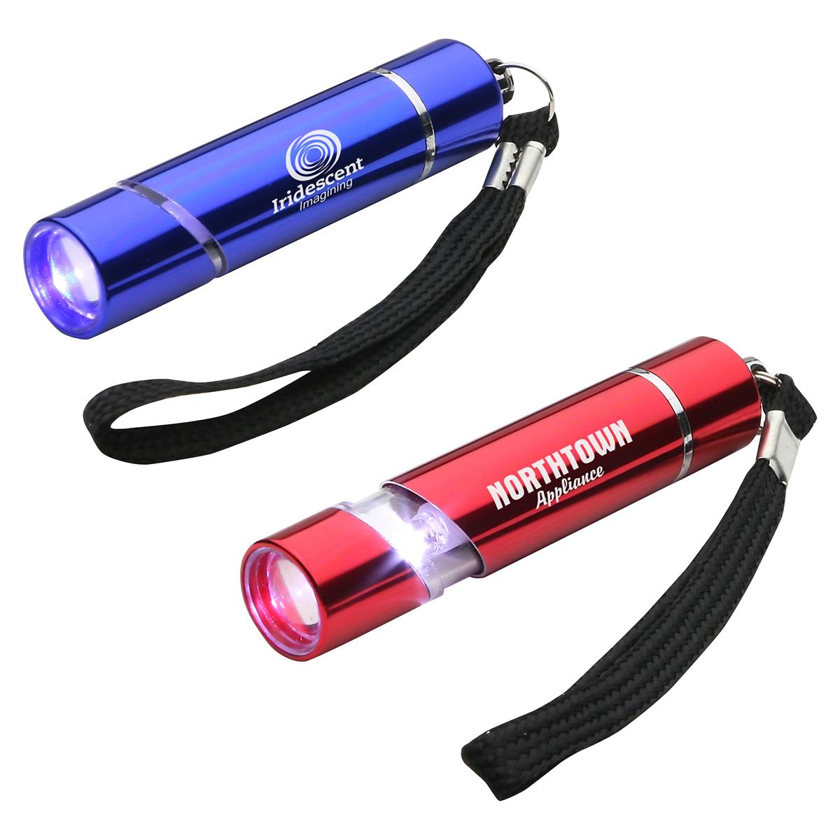 Aluminum Scope LED Flashlight, WLT-AS12 - 1 Colour Imprint