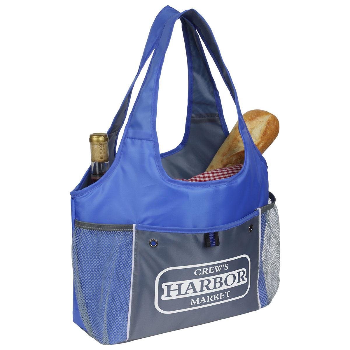 Frostline Cooler Bag w/ Built-in Carrying Strap, WBA-FC13 - 1 Colour Imprint