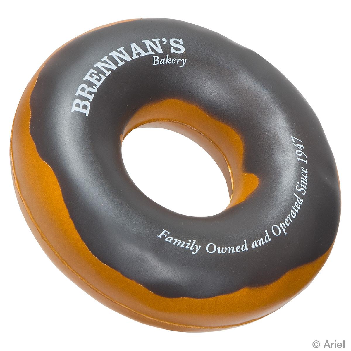 Donut Stress Reliever, LFD-DN07, 1 Colour Imprint