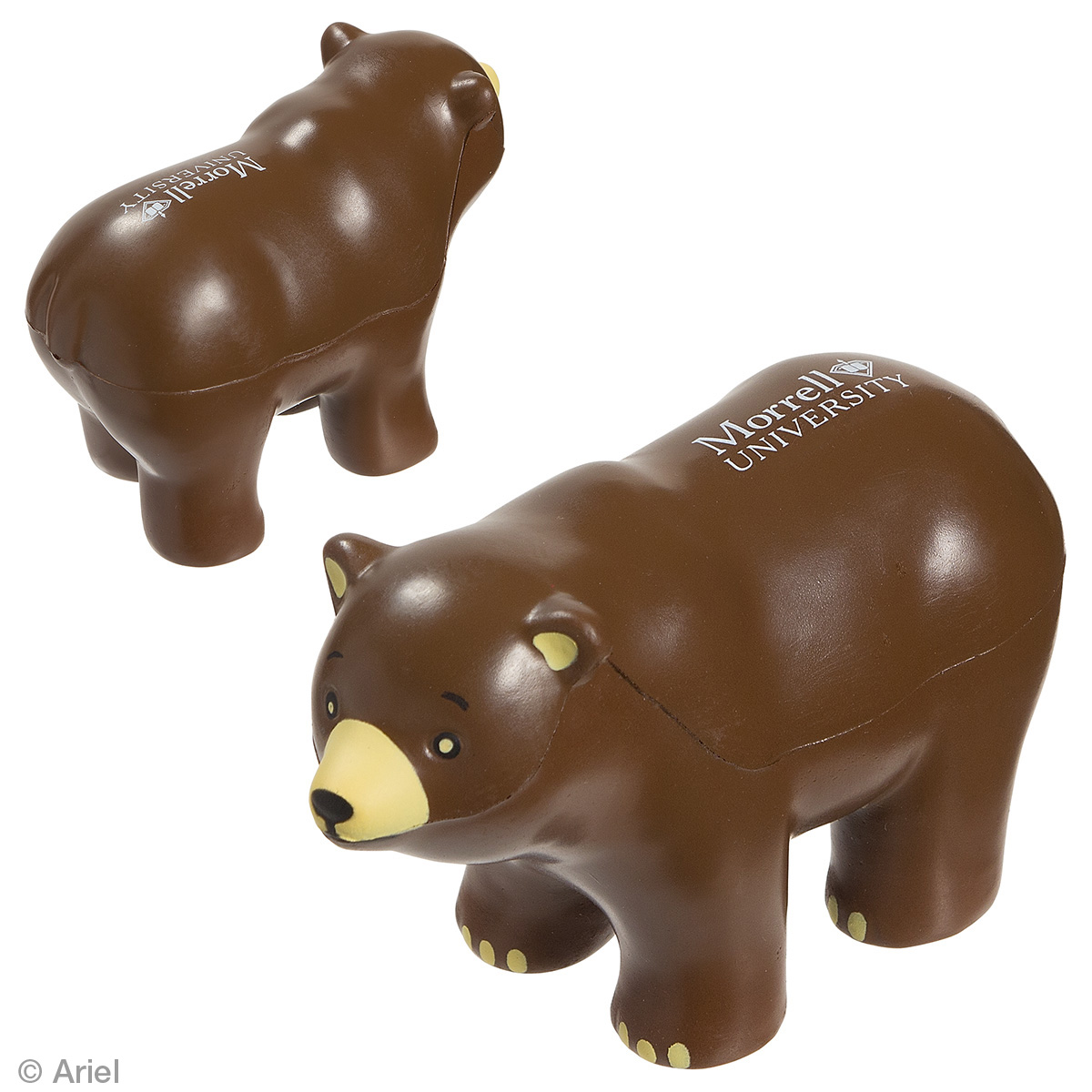Bear Stress Reliever, LAZ-BR09 - 1 Colour Imprint