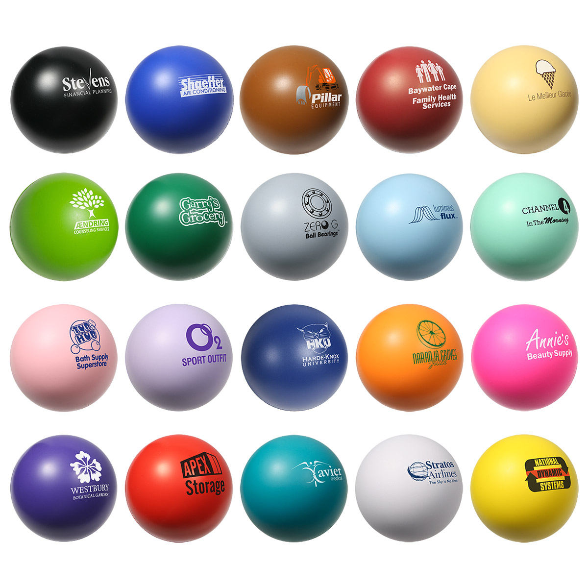 Stress Ball, LSB-SB03, 1 Colour Imprint