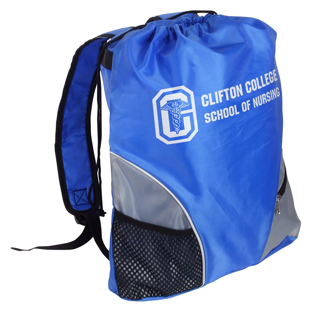 Crossroads Backpack w/ Padded Shoulder Strap, WBA-CR11 - 1 Colour Imprint