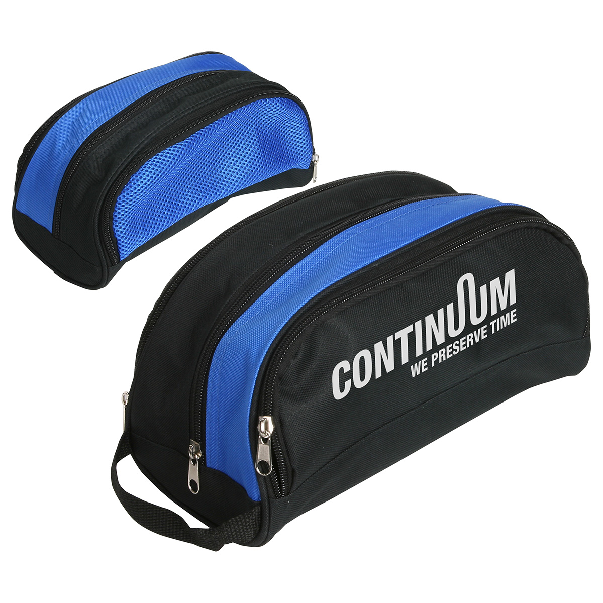 Coastal Toiletry Bag, WBA-CT11 - 1 Colour Imprint
