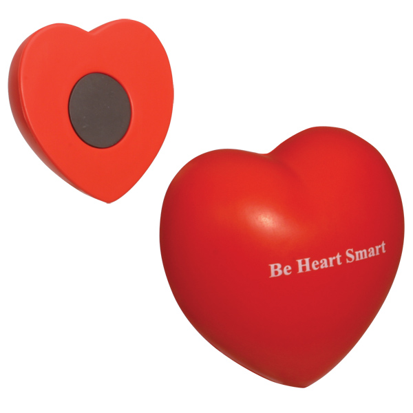 Valentine Heart Magnet, LMG-VH07 - 1 Colour Imprint