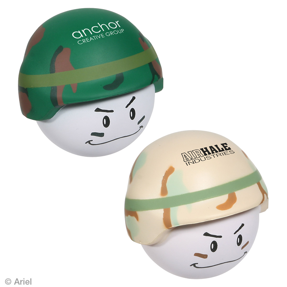 Soldier Mad Cap Stress Reliever, LMA-SD01 - 1 Colour Imprint