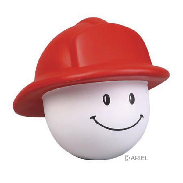 Fireman Mad Cap Stress Reliever, LMA-FH16, 1 Colour Imprint