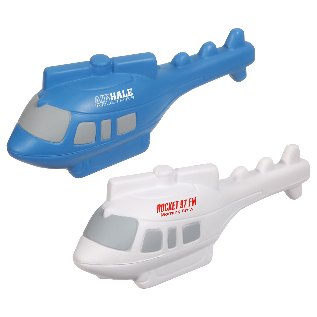 Helicopter Stress Reliever, LAR-HE36, 1 Colour Imprint