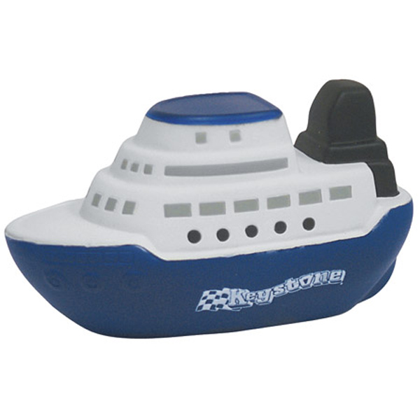 Cruise Boat Stress Reliever, LTV-CB24 - 1 Colour Imprint