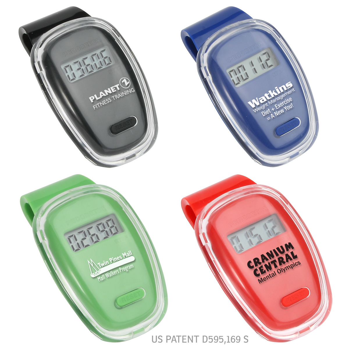 Fitness First Pedometer, WHF-FF08, 1 Colour Imprint