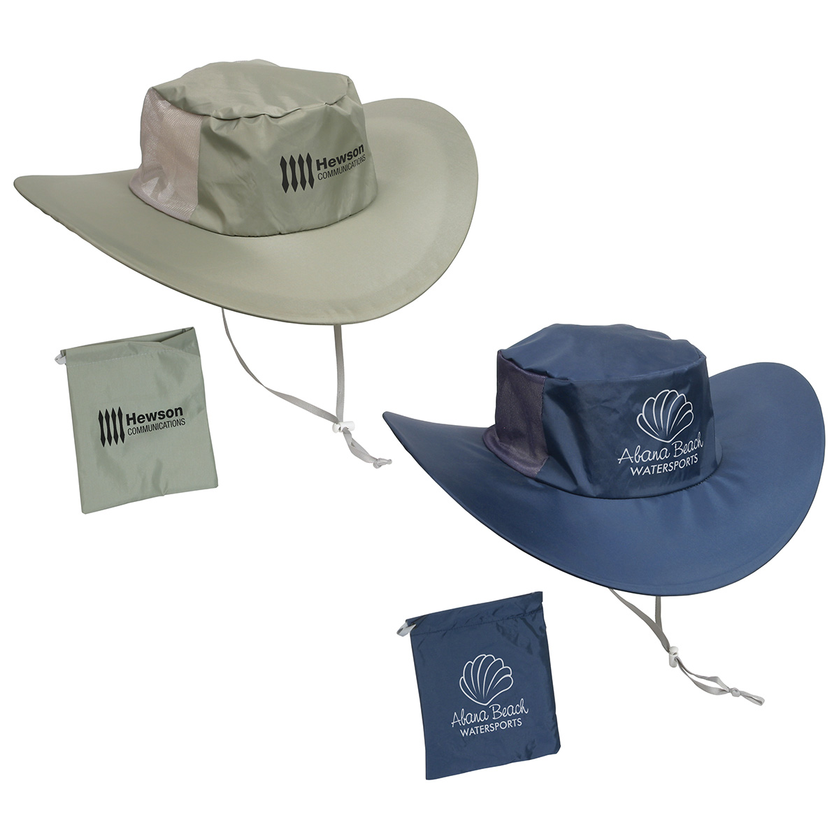 Fold N' Go Outdoor Hat, WOR-OH01 - 1 Colour Imprint