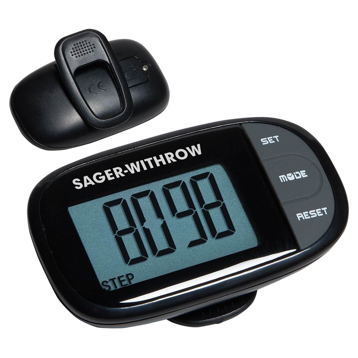Easy See Pedometer w/ Clock, WHF-ES16 - 1 Colour Imprint