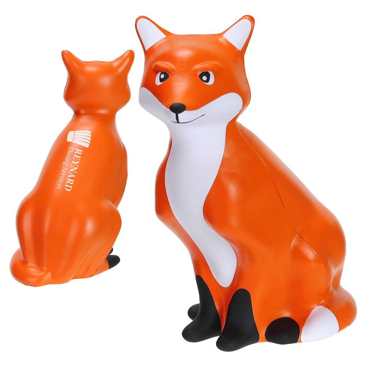 Fox Stress Reliever, LNA-FX19, 1 Colour Imprint