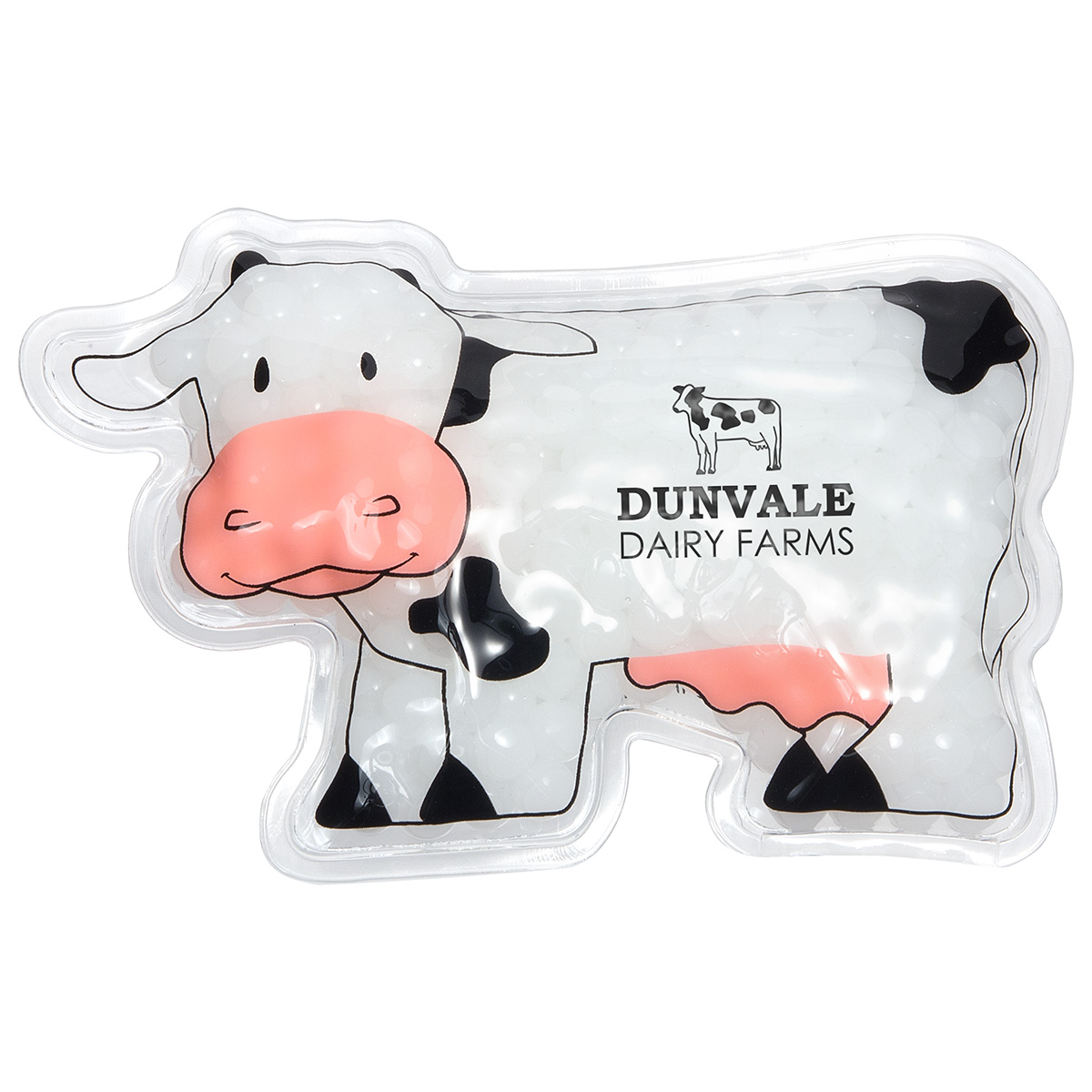 Milk Cow Hot/ Cold Pack (FDA approved, Passed TRA test), WHF-MC15 - 1 Colour Imprint