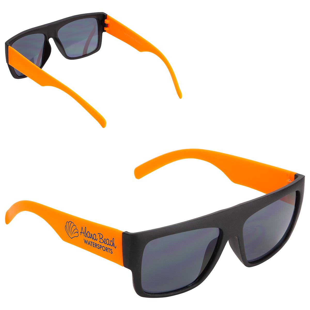 Delray Two-Tone Sunglasses, WPC-DR19, 1 Colour Imprint