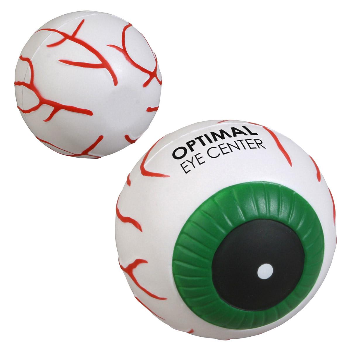 Eyeball Stress Reliever, LAN-EY08 - 1 Colour Imprint