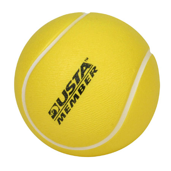 Tennis Ball Stress Reliever, LSP-TE07, 1 Colour Imprint