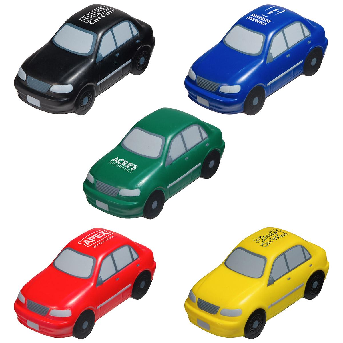 Sedan Stress Reliever, LTR-SE11 - 1 Colour Imprint