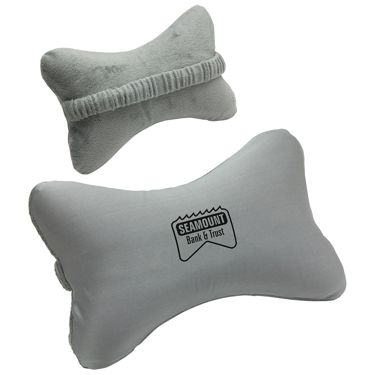 Car Neck Rest Pillow, WTV-CN15 - 1 Colour Imprint